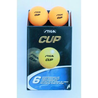 Pingpong labda STIGA Cup, sárga (6 db)