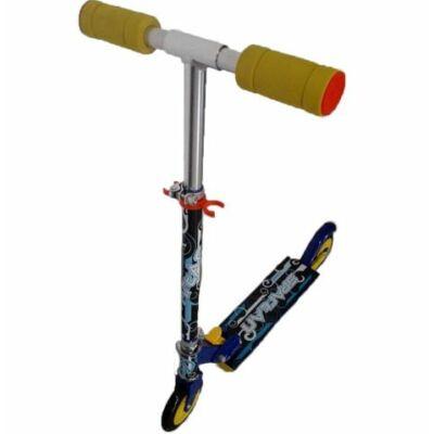 Összecsukható fém roller, Spartan, kék színű