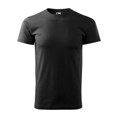 Extra méretű (5XL) PÓLÓ, fekete