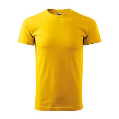 Extra méretű (3XL) PÓLÓ, sárga
