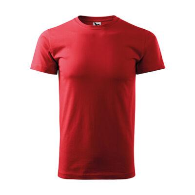 Extra méretű (4XL) PÓLÓ, piros