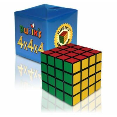 RUBIK kocka 4 x 4 x 4, kék dobozos