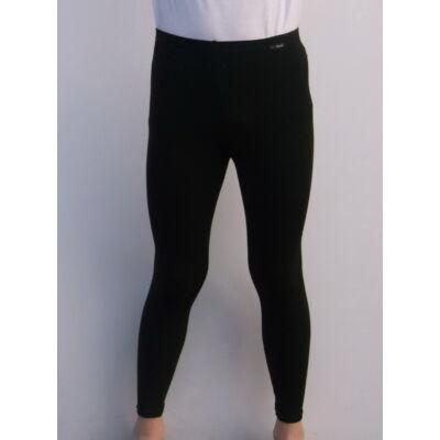 Aláöltözet, hosszú szárú nadrág, felnőtt, fekete