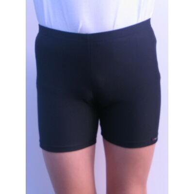 Aláöltözet, combközépig érő nadrág, gyerek, fekete