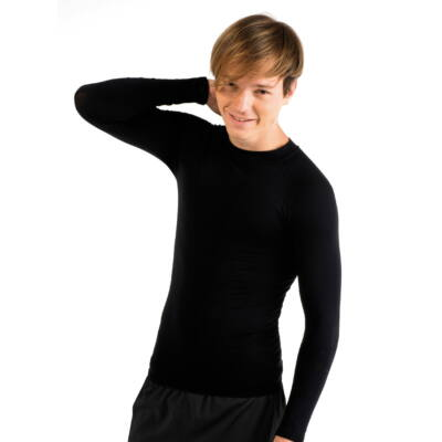 Fekete hosszú ujjú aláöltözet