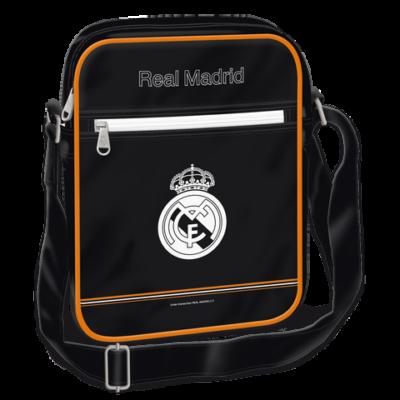 Reál Madrid oldaltáska álló, közepes