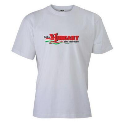 Magyar válogatott szurkolói póló, fehér
