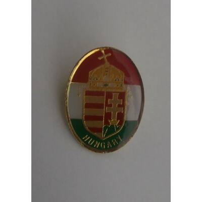Magyar címer kitűző