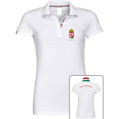 Magyar válogatott galléros női póló