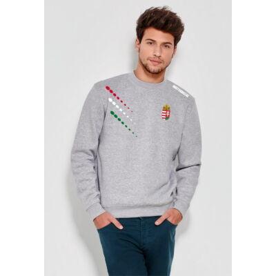 Magyar pulóver bebújós, szürke