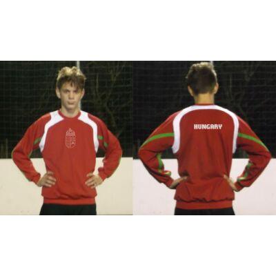 Magyar pulóver bebújós, piros