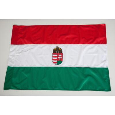 Magyar zászló - Címerrel (40 x 60 cm)