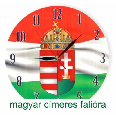Magyar címeres falióra 29 cm