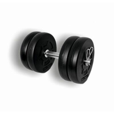 Egykezes tárcsás kézisúlyzó szett - 10,5 kg