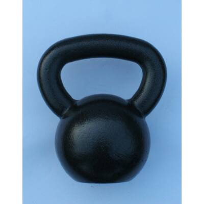 Kettlebell, fém, lakkozott - 10 kg