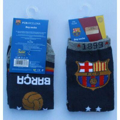 Barcelona gyerek zokni - sötétkék