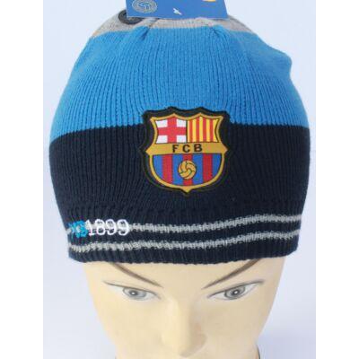 Barcelona kötött sapka, kék