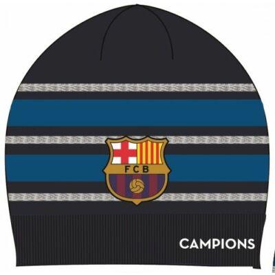 FC Barcelona kötött sapka, sötétkék