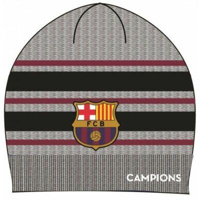FC Barcelona kötött sapka, szürke