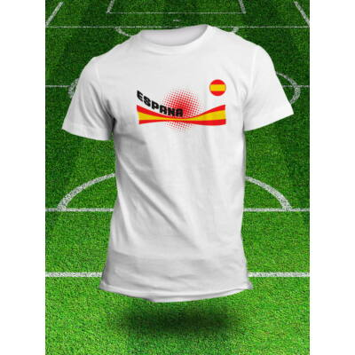 Spanyol válogatott szurkolói póló, fehér
