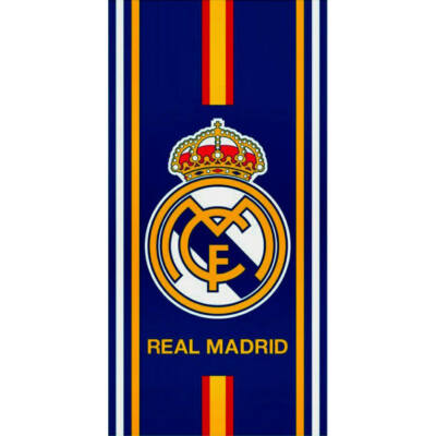 Real Madrid fürdőlepedő, strand törölköző