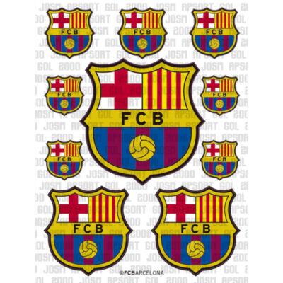 Barcelona matrica készlet