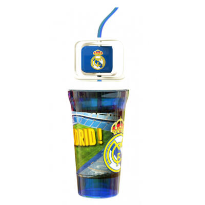 Real Madrid műanyag pohár