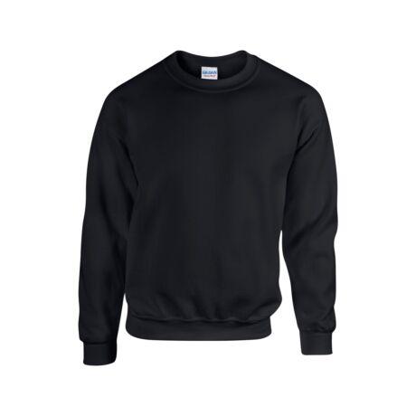 Extra méretű bebújós, környakas pulóver, fekete