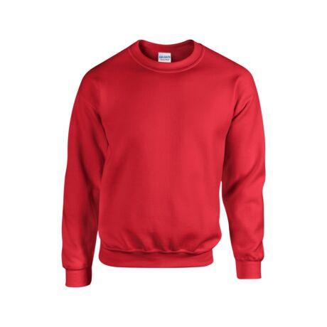 Extra méretű bebújós, környakas pulóver, piros