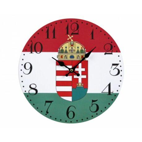 Magyar címeres falióra 30 cm