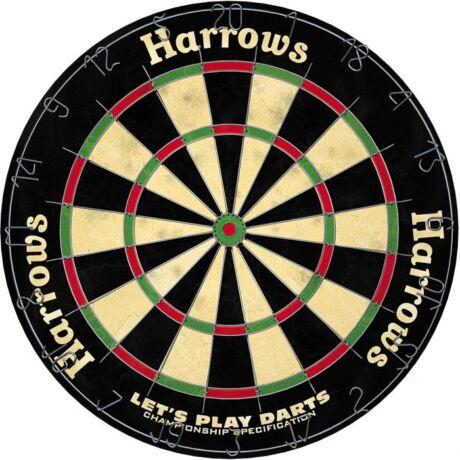 Darts tábla - Harrows Let's Play Darts