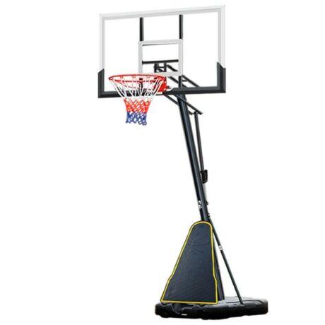 Mobil kosárlabda állvány, állítható magassággal