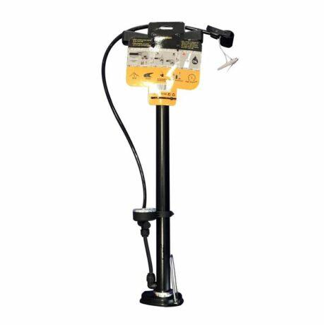 Pumpa nyomásmérővel