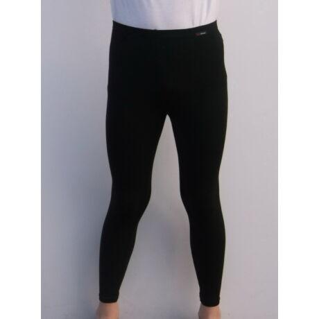 Aláöltözet, hosszú szárú nadrág, gyerek, fekete