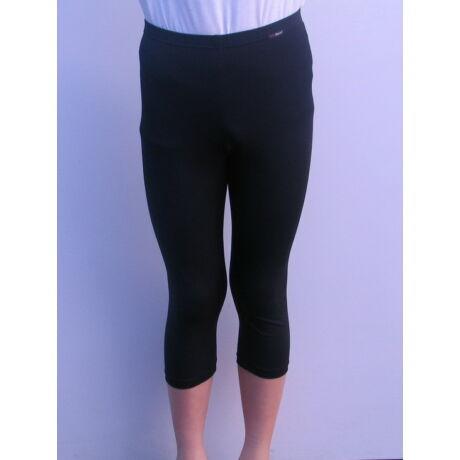 Aláöltözet, térd alatti nadrág, gyerek, fekete