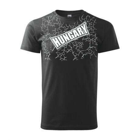 Magyar válogatott szurkolói póló, fekete