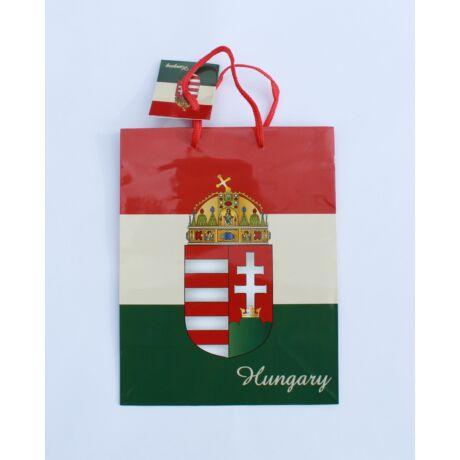 Ajándék dísztasak kicsi, magyar címeres