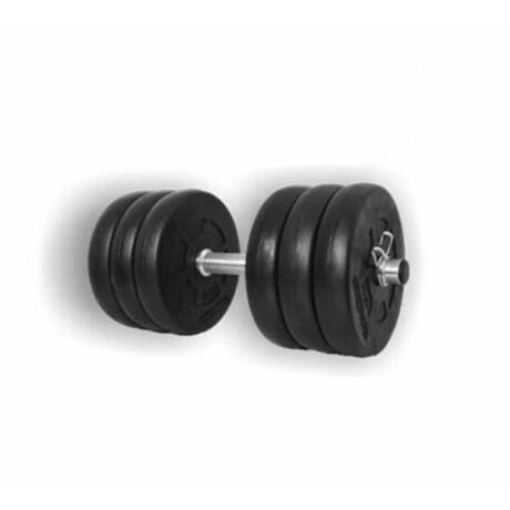 Egykezes tárcsás kézisúlyzó szett - 16 kg
