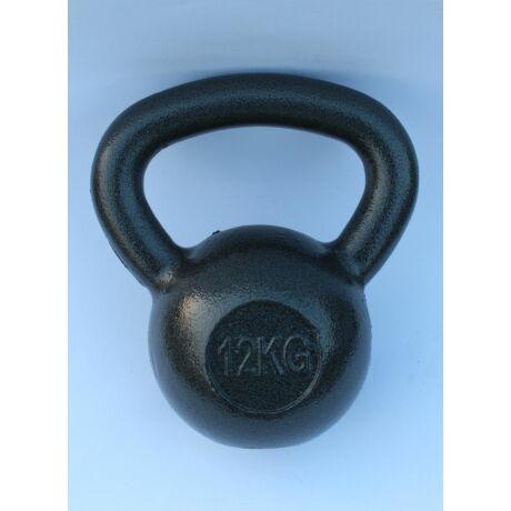 Kettlebell, fém, lakkozott - 12 kg