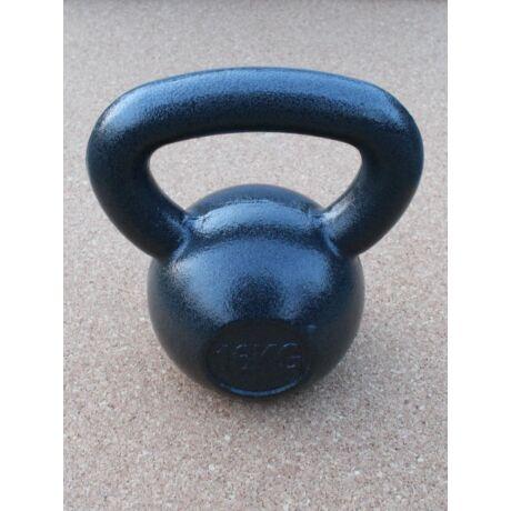 Kettlebell, fém, lakkozott - 16 kg