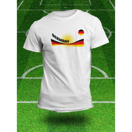 Német válogatott szurkolói póló, fehér