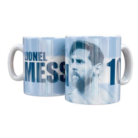 Leo Messi Argentína kerámia bögre