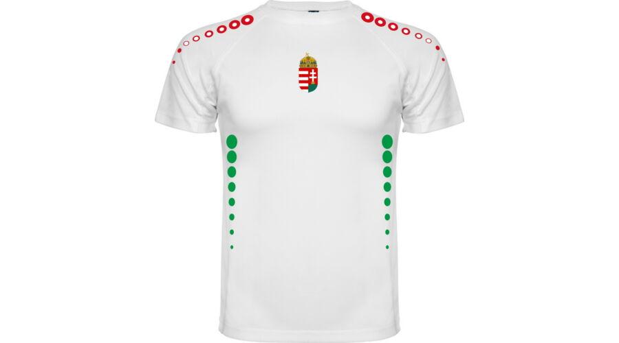 7632e98bf8 Magyar válogatott szurkolói mez (26), fehér GYEREK - Mez, nadrág -  Futballmez Webáruház- Tim Sport